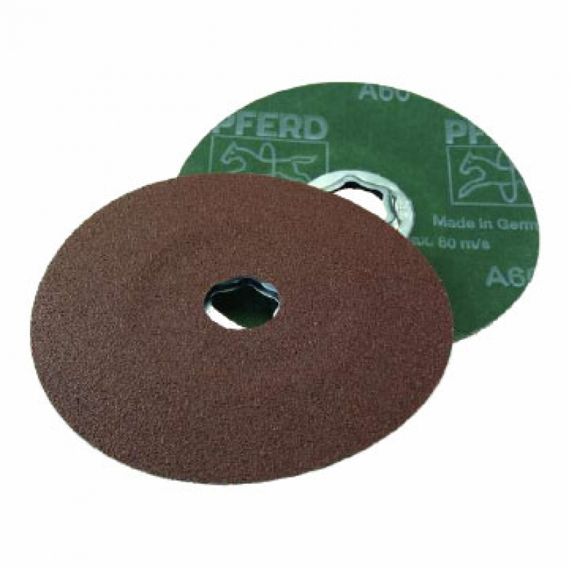 DISCO MANTA ABRASIVA 150MM MARRON